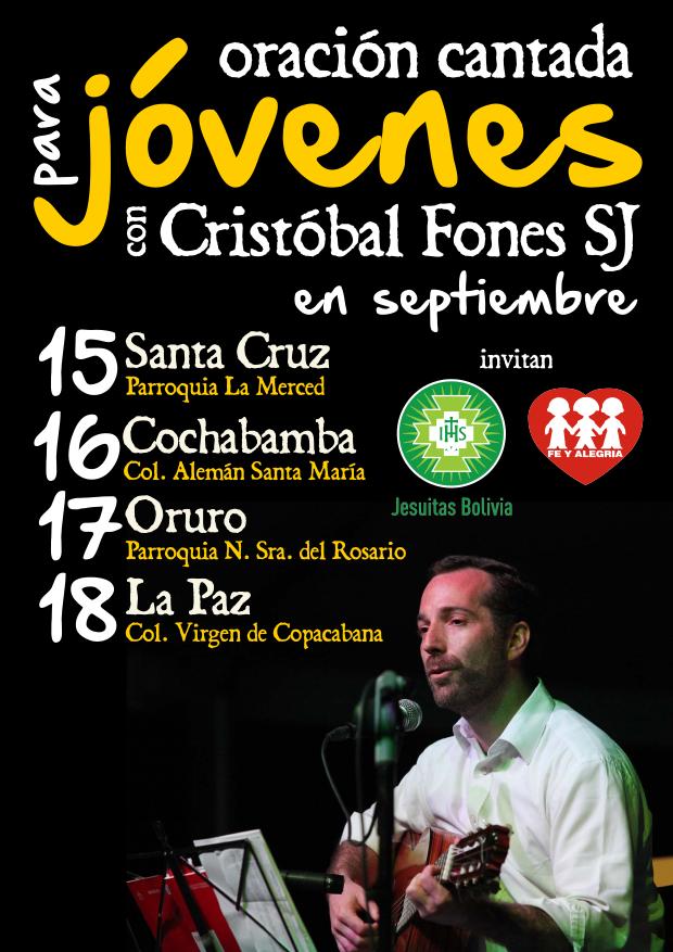Afiche Cristóbal Fones